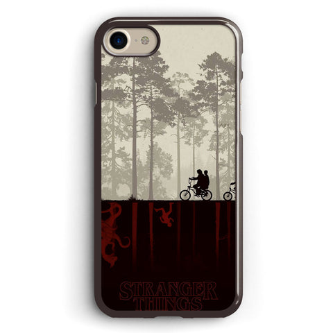 Stranger Things Cycling Apple iPhone 7 Case Cover ISVA616
