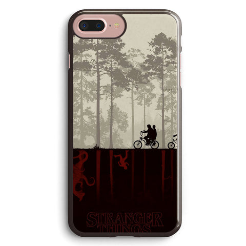 Stranger Things Cycling Apple iPhone 7 Plus Case Cover ISVA616