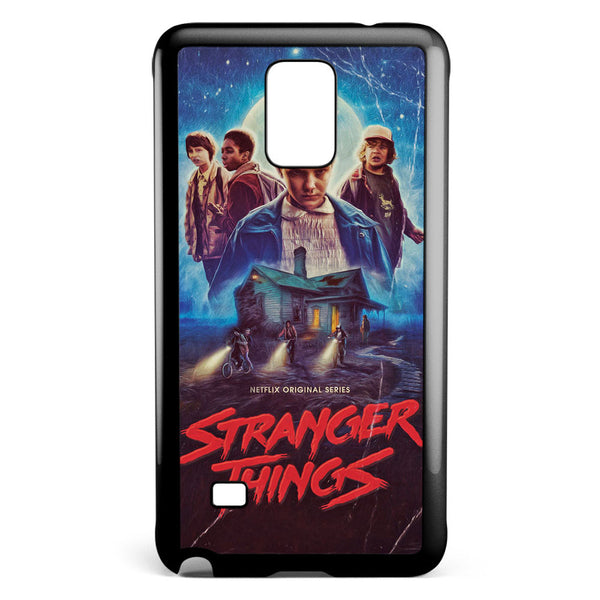 Stranger Things Poster Samsung Galaxy Note 4 Case Cover ISVA617