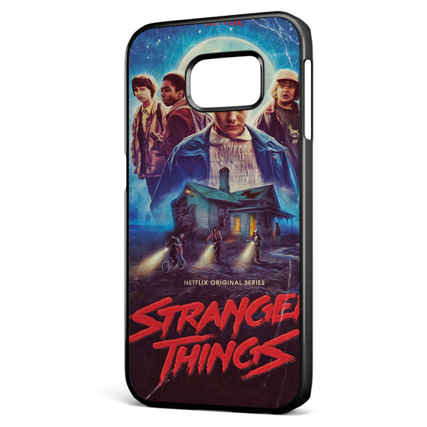 Stranger Things Poster Samsung Galaxy S6 Edge Case Cover ISVA617