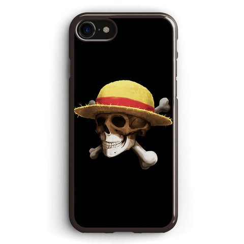 Straw Hat Bone One Piece Anime Apple iPhone 7 Case Cover ISVC467