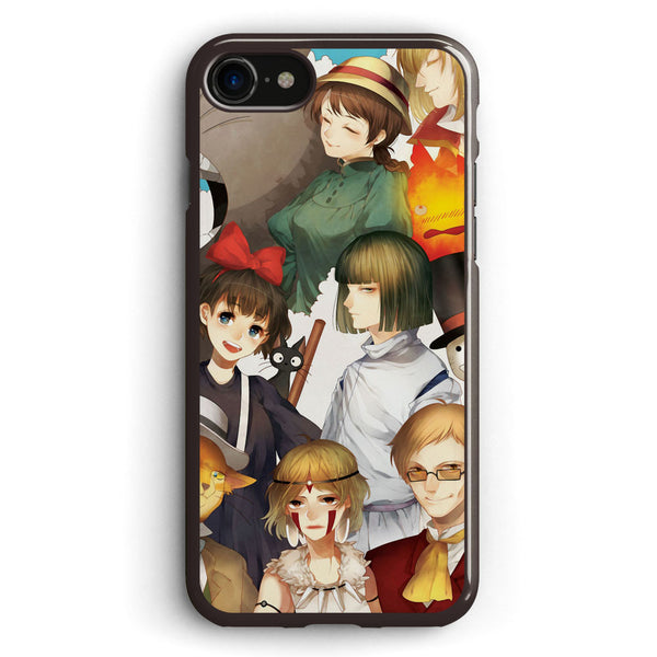 Studio Ghibli All Characters 2 Apple iPhone 7 Case Cover ISVG802