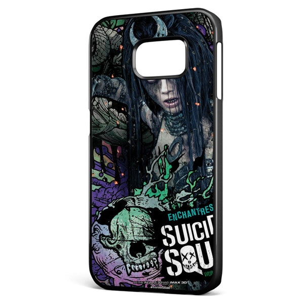 Suicide Squad Enchantress Poster Samsung Galaxy S6 Edge Case Cover ISVA359