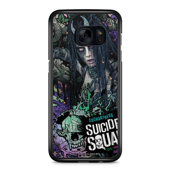 Suicide Squad Enchantress Poster Samsung Galaxy S7 Edge Case Cover ISVA359