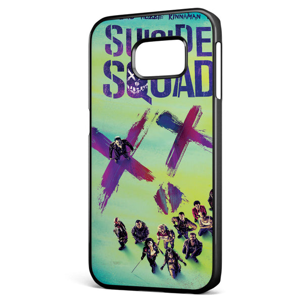Suicide Squad Movie Poster Samsung Galaxy S6 Edge Case Cover ISVA361
