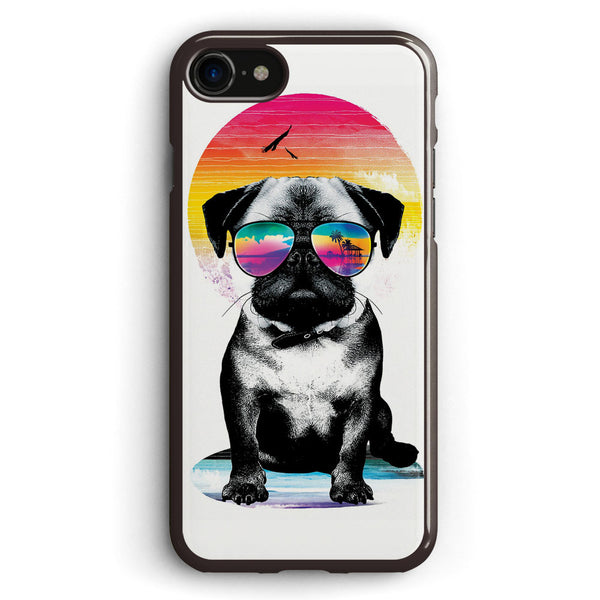 Summer Pug Apple iPhone 7 Case Cover ISVB229