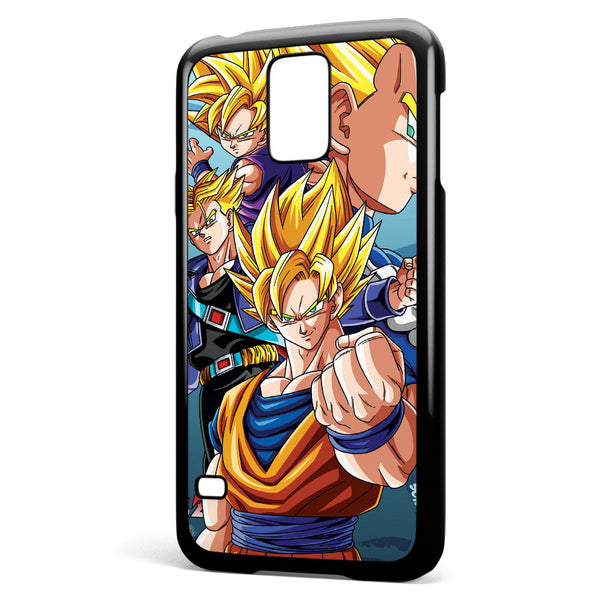 Super Saiyan Dragon Bal Z Dbz Anime Goku Gohan Samsung Galaxy S5 Case Cover ISVA302