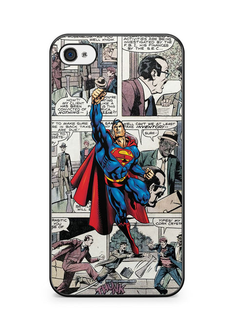 Superman Comic Apple iPhone 4 / iPhone 4S Case Cover ISVA228