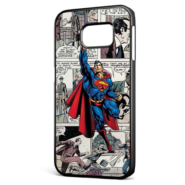 Superman Comic Samsung Galaxy S6 Edge Case Cover ISVA228