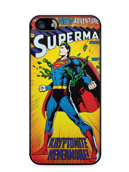 Superman Cover Comic Apple iPhone SE / iPhone 5 / iPhone 5s Case Cover  ISVA232