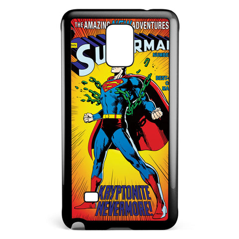 Superman Cover Comic Samsung Galaxy Note 4 Case Cover ISVA232