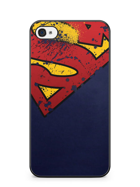 Superman Grunge Logo Apple iPhone 4 / iPhone 4S Case Cover ISVA229