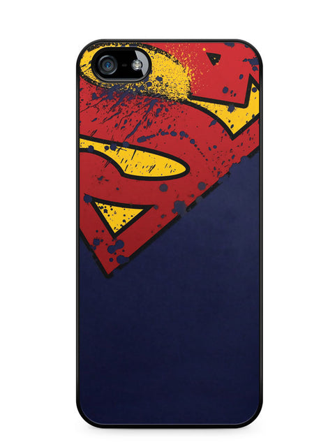 Superman Grunge Logo Apple iPhone 5c Case Cover ISVA229
