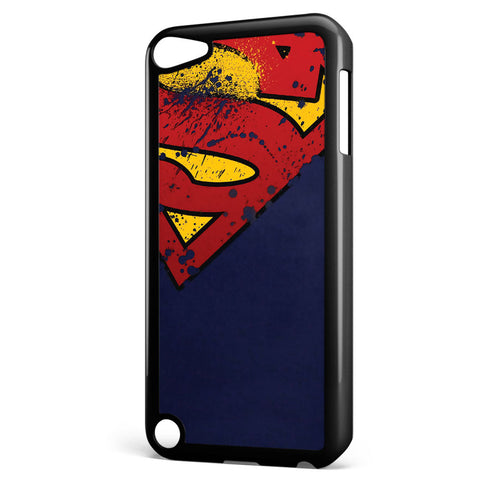 Superman Grunge Logo Apple iPod Touch 5 Case Cover ISVA229