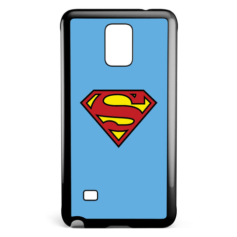 Superman Logo Samsung Galaxy Note 4 Case Cover ISVA032