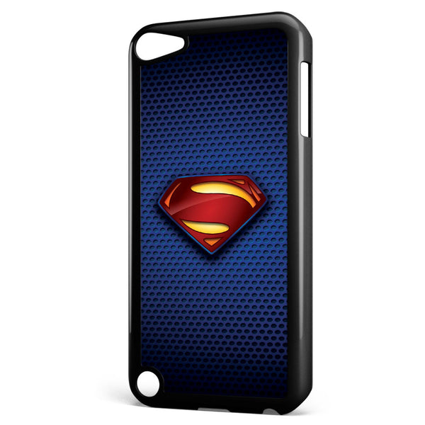 Superman Man of Steel Logo Apple iPod Touch 5 Case Cover ISVA237