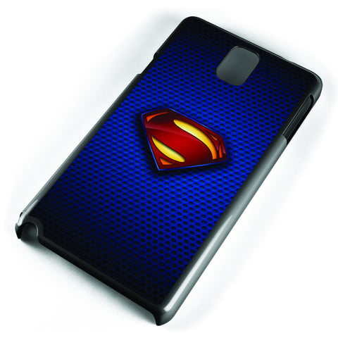 Superman Man of Steel Logo Samsung Galaxy Note 3 Case Cover ISVA237