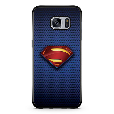 Superman Man of Steel Logo Samsung Galaxy S7 Case Cover ISVA237