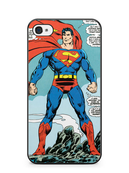 Superman the Man of Steel Apple iPhone 4 / iPhone 4S Case Cover ISVA231
