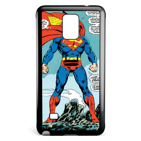 Superman the Man of Steel Samsung Galaxy Note 4 Case Cover ISVA231