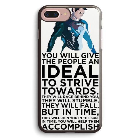 Superman Typography Apple iPhone 7 Plus Case Cover ISVC475