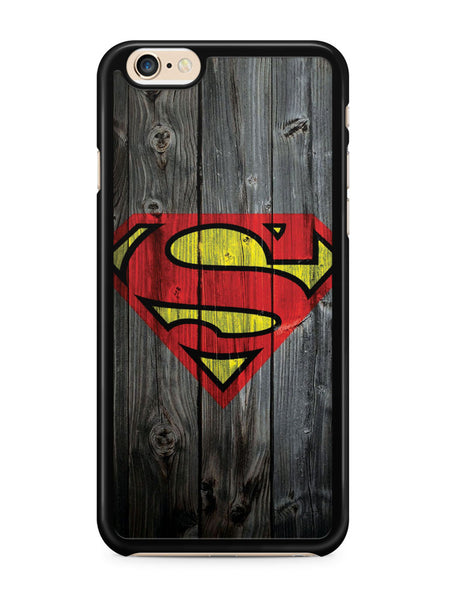 Superman Wood Logo Apple iPhone 6 / iPhone 6s Case Cover ISVA235