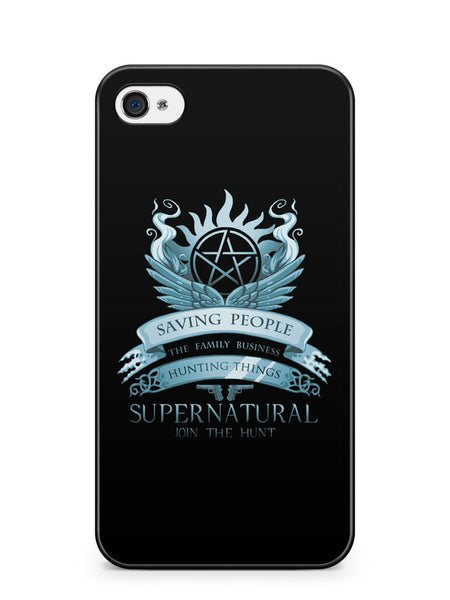 Supernatural Join the Hunt Apple iPhone 4 / iPhone 4S Case Cover ISVA622