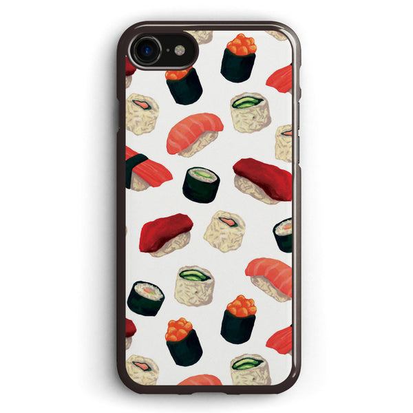 Sushi Characters Pattern Apple iPhone 7 Case Cover ISVE259