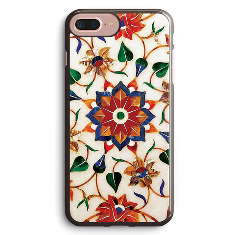 Taj Mahal Floral Design Apple iPhone 7 Plus Case Cover ISVG326