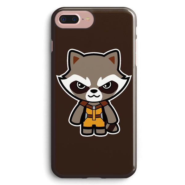 Talking Raccoon Apple iPhone 7 Plus Case Cover ISVD081