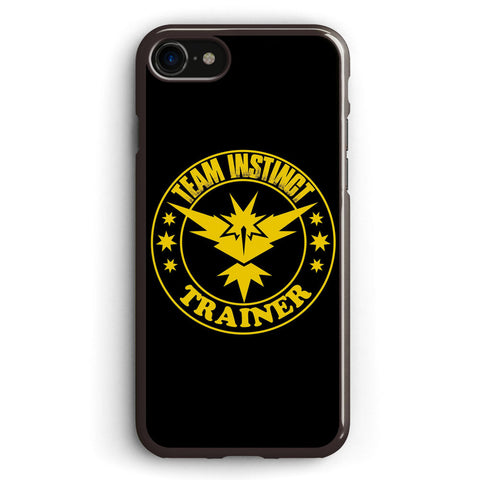 Team Instinct Pokemon Go Apple iPhone 7 Case Cover ISVF923