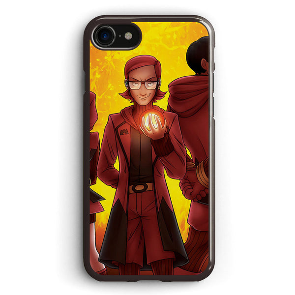 Team Magma Apple iPhone 7 Case Cover ISVF924