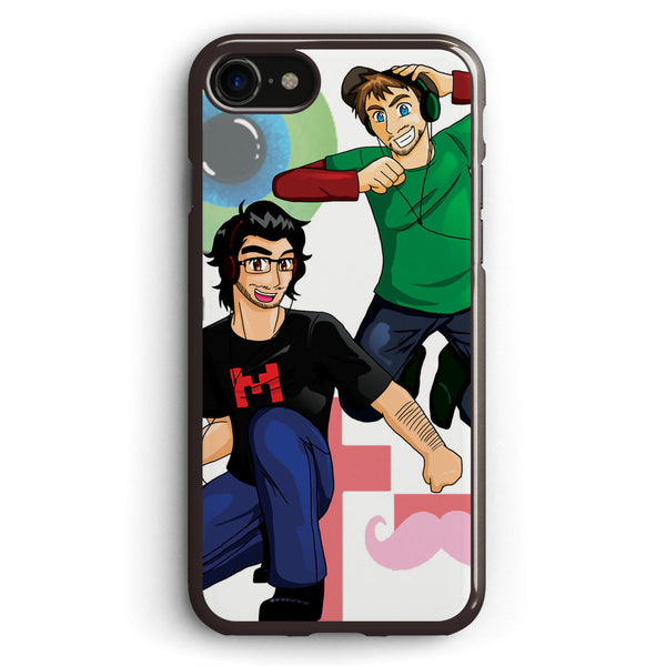 Team Markiplier and Jacksepticeye Apple iPhone 7 Case Cover ISVC489