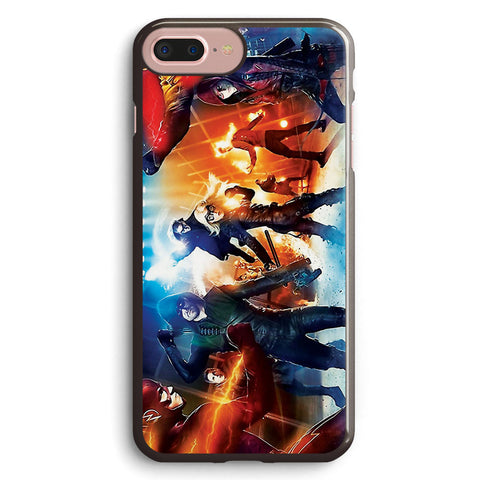 The Flash Arrow Superhero Fight Club Apple iPhone 7 Plus Case Cover ISVB847