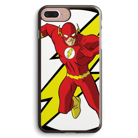 The Flash Logo and Character Apple iPhone 7 Plus Case Cover ISVA118