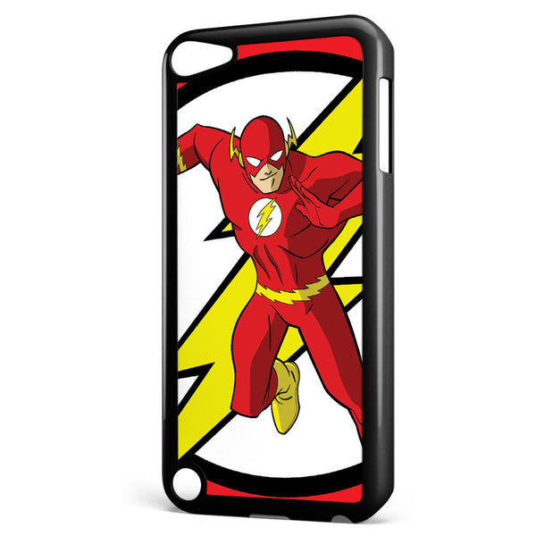 The Flash Logo and Character Apple iPod Touch 5 Case Cover ISVA118