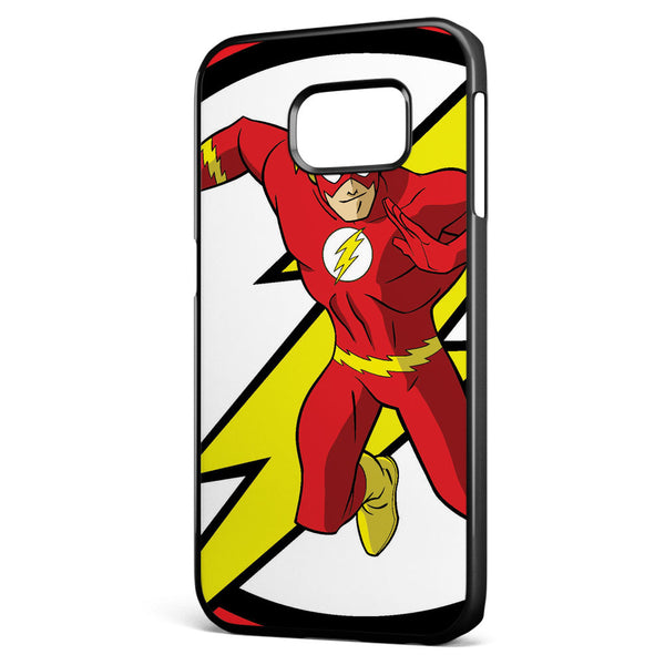 The Flash Logo and Character Samsung Galaxy S6 Edge Case Cover ISVA118