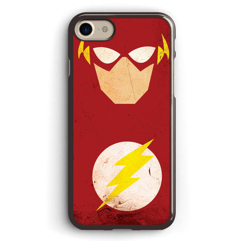 The Flash Minimalist Art Apple iPhone 7 Case Cover ISVA312