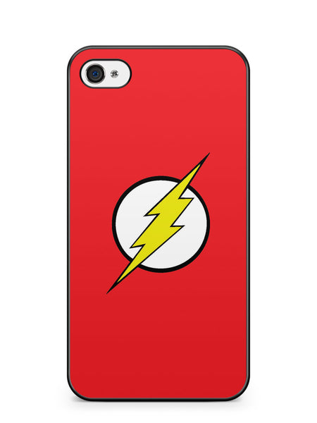 The Flash Simple Logo Apple iPhone 4 / iPhone 4S Case Cover ISVA116