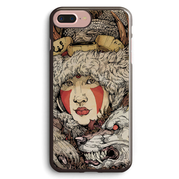 The Ghibli Girl Apple iPhone 7 Plus Case Cover ISVD743