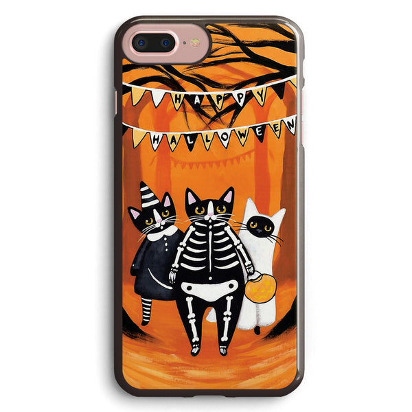 The Halloween Cats Apple iPhone 7 Plus Case Cover ISVD094