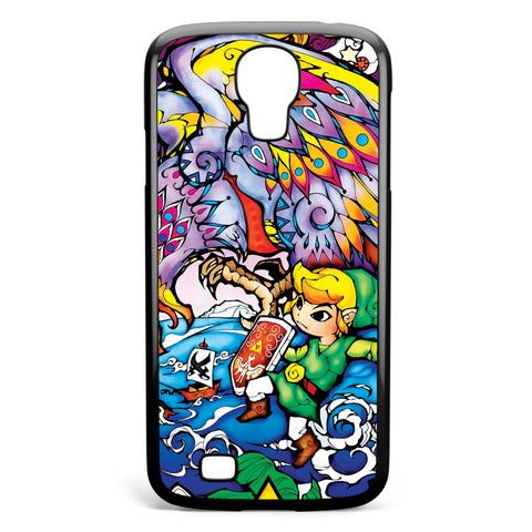 The Legend of Zelda Wind Waker Collector's Series Puzzle Samsung Galaxy S4 Case Cover ISVA152