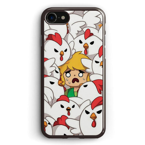 The Legend of Zelda Link Chicken Apple iPhone 7 Case Cover ISVD100
