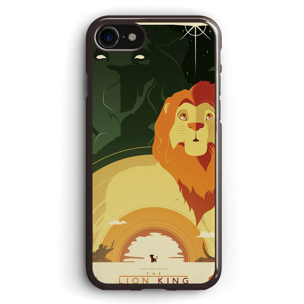 The Lion King Character Collage Apple iPhone 7 Case Cover ISVD103