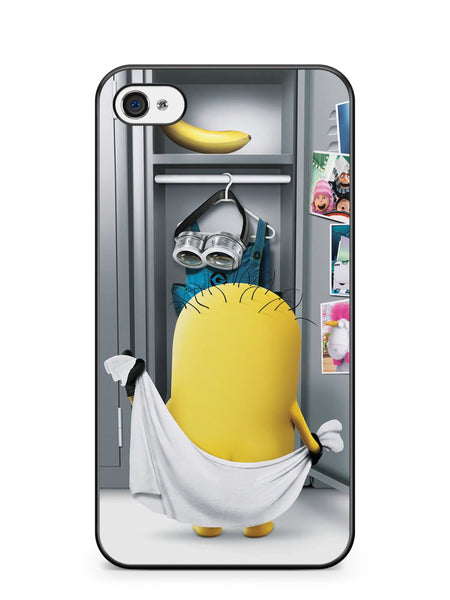 The Naked Minions Apple iPhone 4 / iPhone 4S Case Cover ISVA549