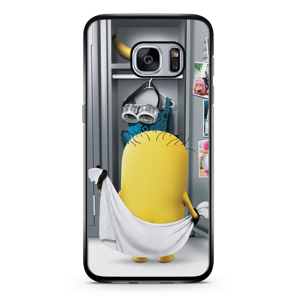 The Naked Minions Samsung Galaxy S7 Case Cover ISVA549