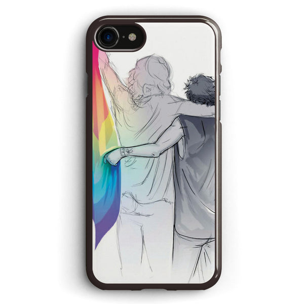 The Rainbow Flag  i Would if I Could Not Yet but Soon Apple iPhone 7 Case Cover ISVB858