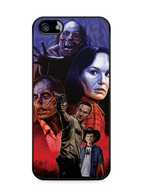 The Walking Dead Artwork Apple iPhone 5c Case Cover ISVA630