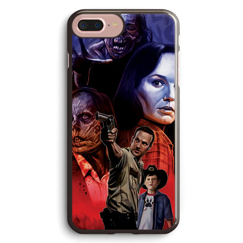 The Walking Dead Artwork Apple iPhone 7 Plus Case Cover ISVA630
