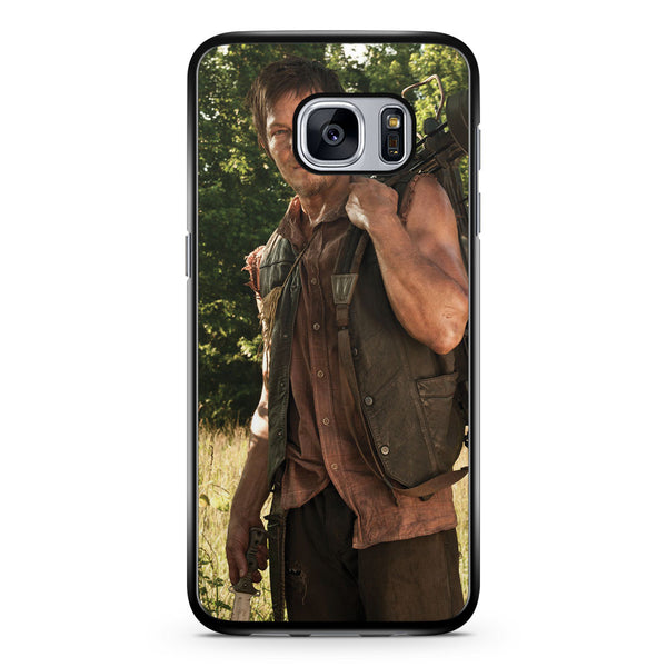 The Walking Dead Norman Reedus Samsung Galaxy S7 Case Cover ISVA631